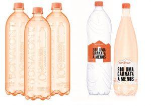 Para economizar plástico, Bonafont não tem mais rótulo