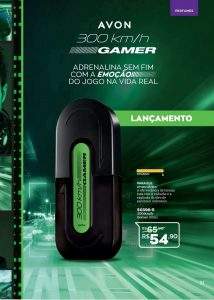 Avon lança 300 km/h Gamer