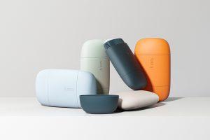 O design despojado de Fussy's From Blond prega o poder do desodorante recarregável