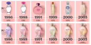 O Boticário apresenta uma Edição Limitada das fragrâncias femininas Boticollection: Zingara, Innamorata, Dreams, Femme.com, Carpe Diem e Rhea