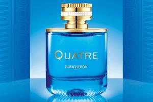 Boucheron fica azul com Quatre en Bleu