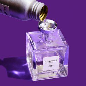 Sillages Paris aposta em frascos recarregáveis