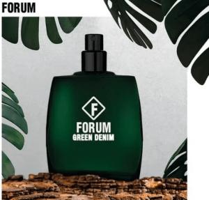 Forum apresenta ao mercado sua mais nova fragrância Green Denim