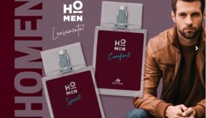 Davene apresenta novas fragrâncias de perfumaria fina da linha HO Men