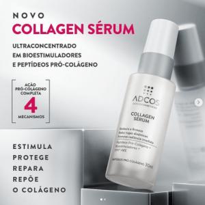 Novo produto Adcos que vai complementar sua rotina de skincare: Collagen Sérum